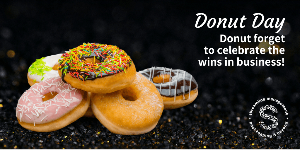 Donut forget to celebrate the wins
